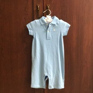 NWT Ralph Lauren infant sleeve/leg onesie
